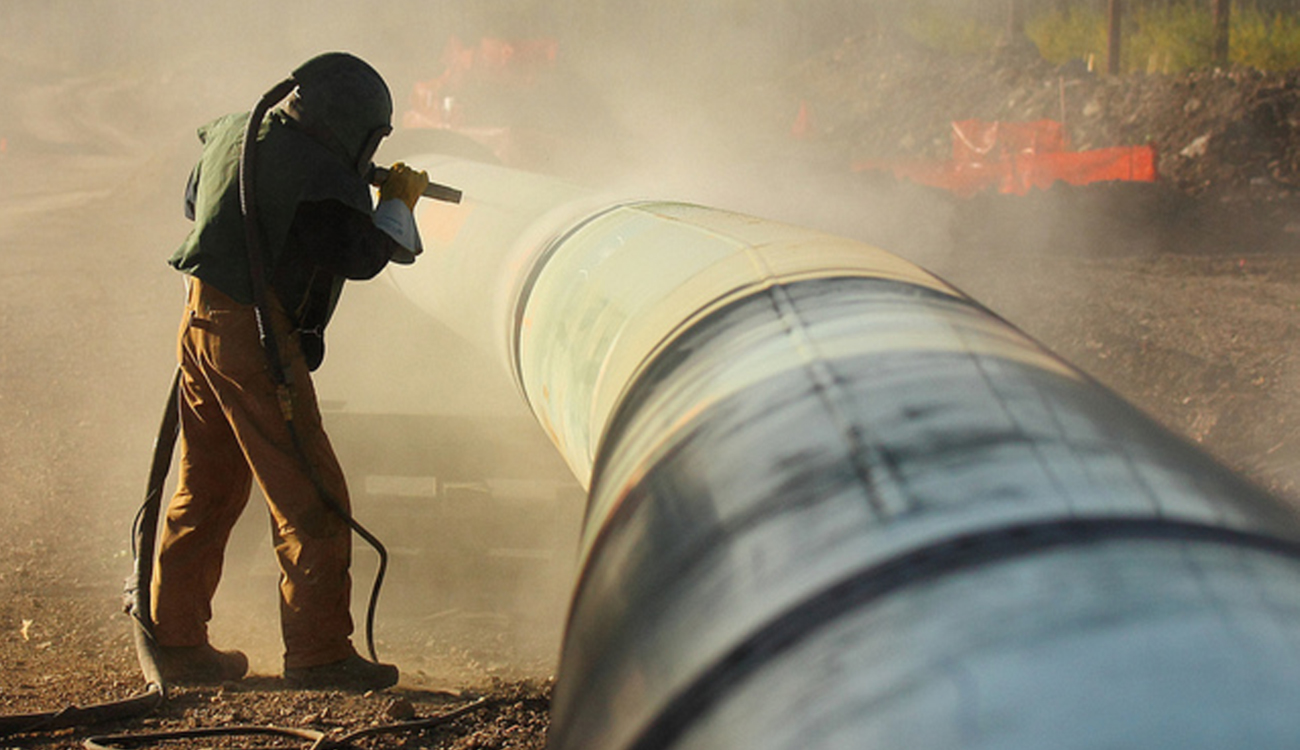 Sand Blasting Pipes in Coopersburg PA