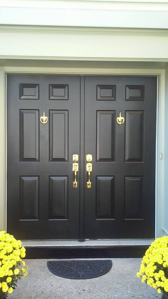 House Door After Painting