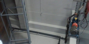 Industrial Area After Painting