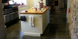 Kitchen After Floor Coating