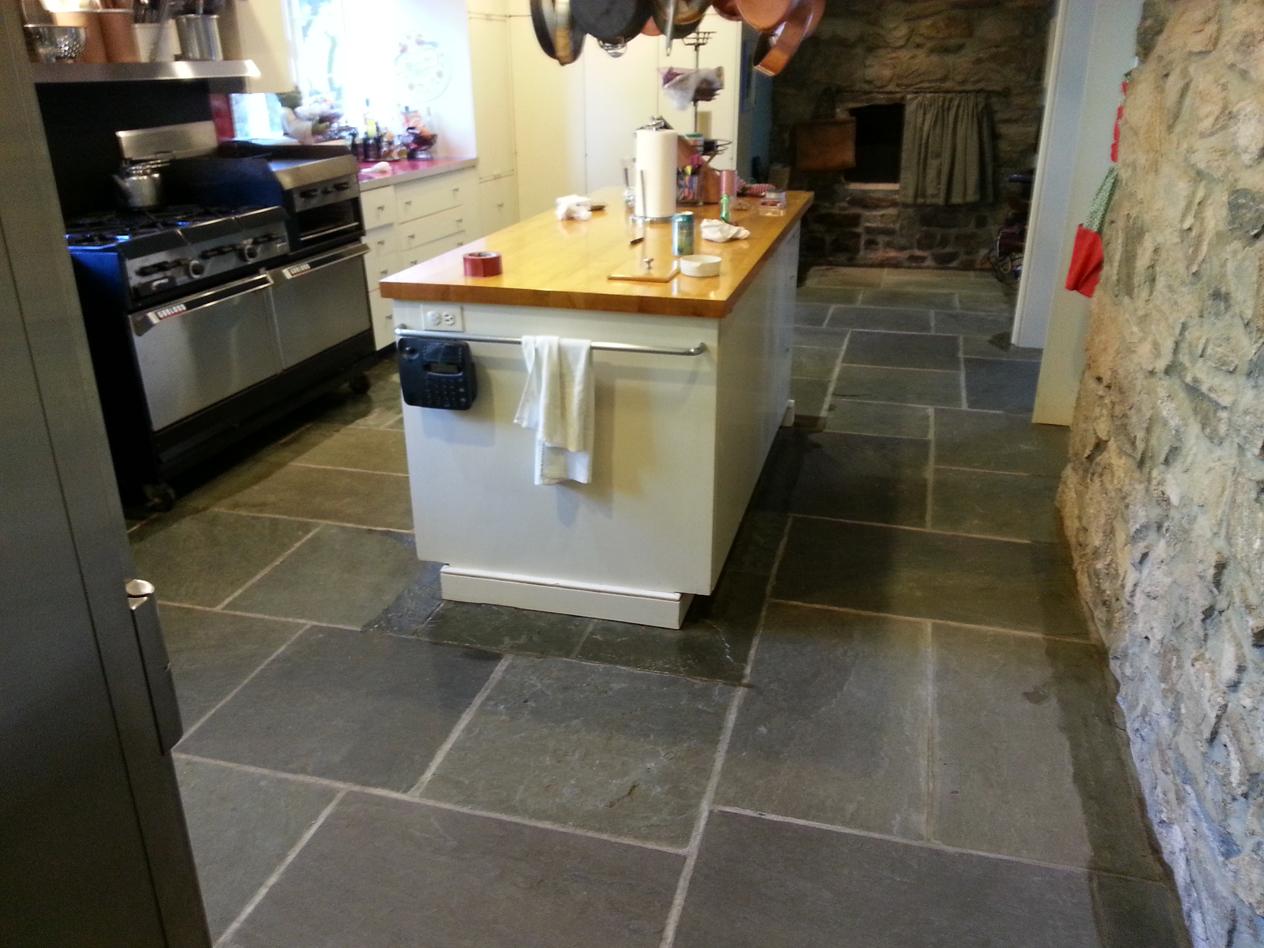 Kitchen Before Floor Coating